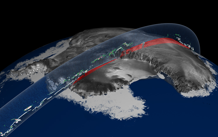 ICESat Elevation and Cloud Illustration